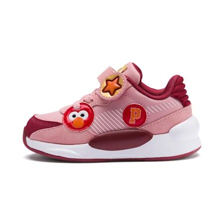 Sesame Street 50 RS 9.8 Babies' Trainers, Bridal Rose-Rhubarb, small-SEA