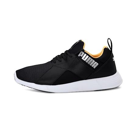Zod Runner Men's Running Shoes, Puma Black-Golden Rod, small-IND