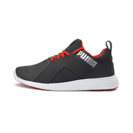 Zod Runner Men's Running Shoes, Asphalt-Pureed Pumpkin-Silver, small-IND