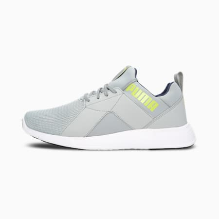 Zod Runner Men's Running Shoes, Quarry-Spellbound-Limepunch, small-IND