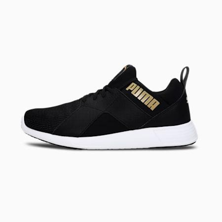 Zod Runner Men's Running Shoes, Puma Black-Puma Team Gold, small-IND