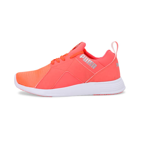 Zod Runner IDP Women's Running Shoes, Fluo Peach-Puma Silver, small-IND