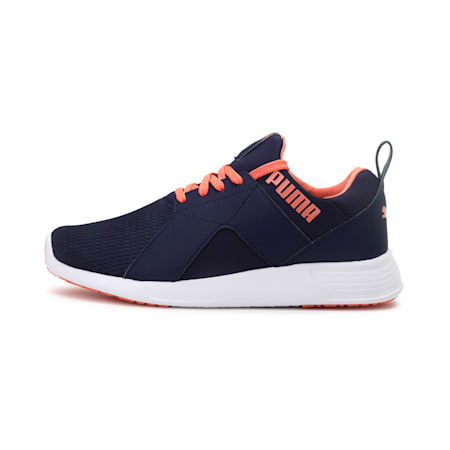 Zod Runner IDP Women's Running Shoes, Peacoat-Fusion Coral, small-IND