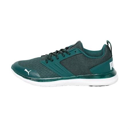Agile t1 NM IDP SoftFoam Women's  Running Shoes, Ponderosa Pine-Puma White, small-IND