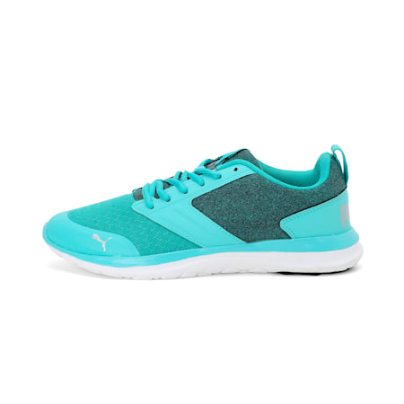 Agile t1 NM IDP SoftFoam Women's  Running Shoes, Blue Turquoise-Silver, small-IND