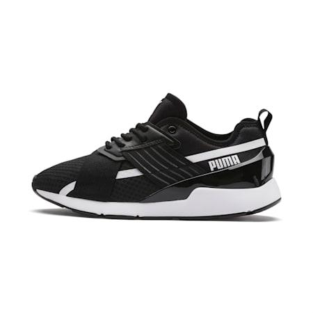 Muse X-2 Women's Shoes, Puma Black-Puma White, small-IND