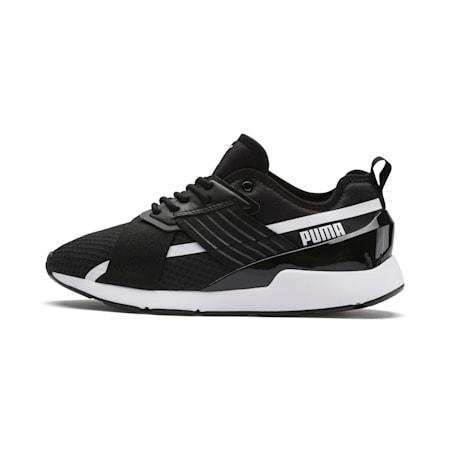 Muse X-2 Women's Sneakers, Puma Black-Puma White, small