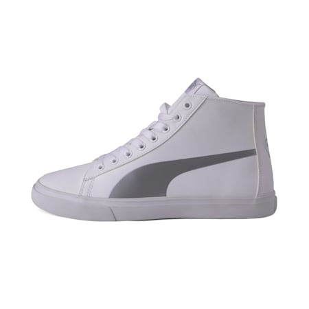 Carve Mid SL IDP Sneakers, Puma White-Silver, small-IND