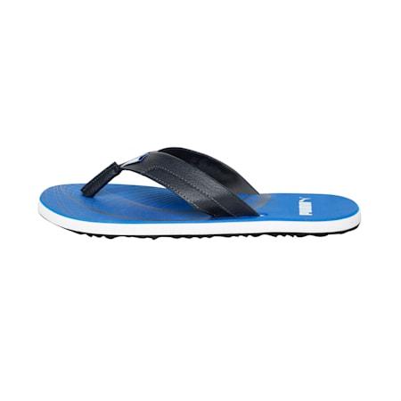 Oleum IDP Sandals, Royal Blue-Asphalt-White, small-IND