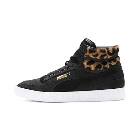Ralph Sampson Mid Wild Sneakers, Puma Blk-Puma Blk-Puma Wht, small