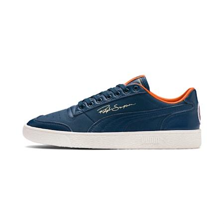 Ralph Sampson Virginia Lo Sneakers, Gib.Sea-Marshmallow-J.Orange, small