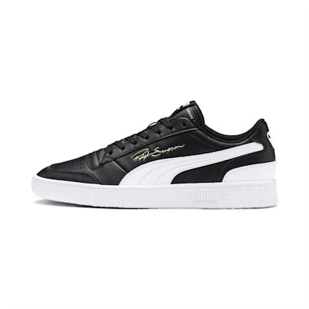 PUMA x Ralph Sampson Lo Sneaker, Puma Black-Puma White-Puma White, small