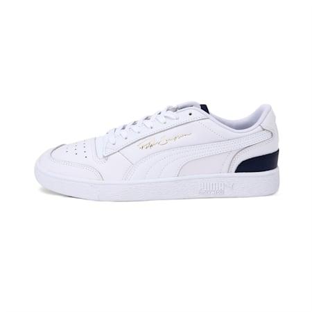 Ralph Sampson Lo Unisex Sneakers, Puma White-Peacoat-Puma White, small-IND