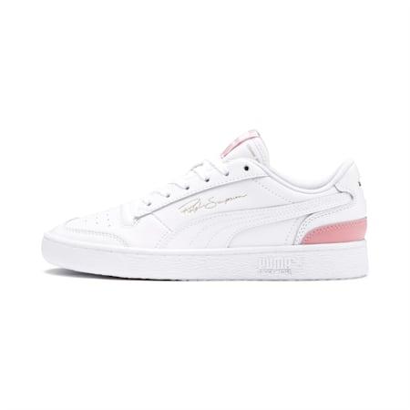 PUMA Ralph Sampson Lo Sneaker, Puma Wht-Puma Wht-BridalRose, small