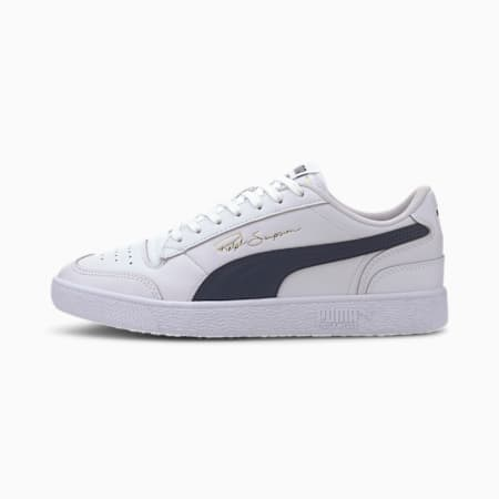 PUMA x Ralph Sampson Lo Sneaker, Puma White-Peacoat-Puma White, small