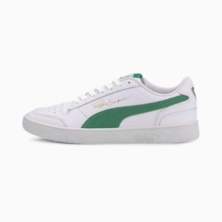 PUMA x Ralph Sampson Lo Sneaker, Puma White-Amazon Green, small