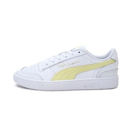 Ralph Sampson Lo Unisex Sneakers, Puma White-Yellow Iris, small-IND