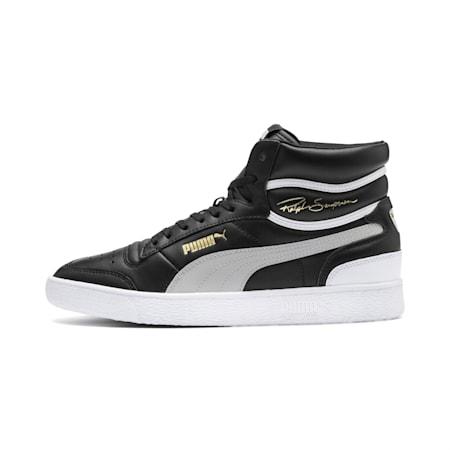 PUMA x Ralph Sampson Mid Sneaker, PumaBlk-Gray Violet-PumaWht, small