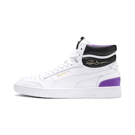 Ralph Sampson Mid Sneakers, PWhite-PWhite-Purple Glimmer, small-IND