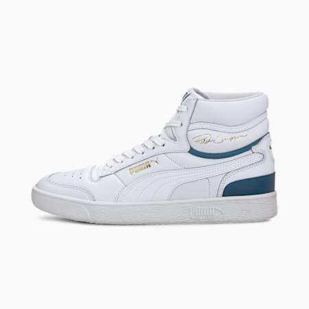 Ralph Sampson Mid Sneakers, Puma White-Digi-blue, small
