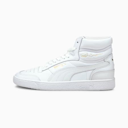 PUMA x Ralph Sampson Mid Sneaker, Puma White-Puma Team Gold, small