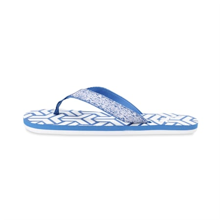 Camp IDP Unisex Flip Flops, Royal Blue-Puma White, small-IND