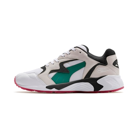 Prevail Classic Sneakers, Puma White-Teal Green, small