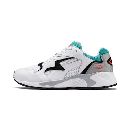 Prevail Classic Sneakers, Puma White-Blue Turquoise, small