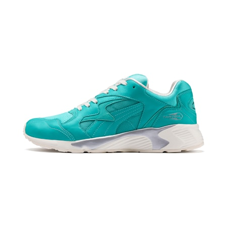 Prevail IR Reality Sneakers, Blue Turquoise-Whisper White, small