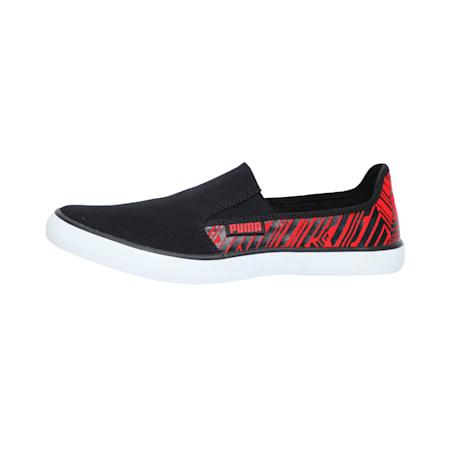 Campario 2 IDP Men's Sneakers, Puma Black-High Risk Red, small-IND