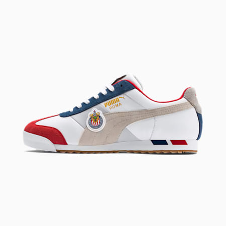 Chivas Roma Sneakers, Puma White-High Risk Red, small