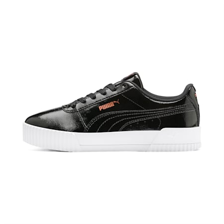 Carina P Women's Sneakers, Puma Black-Puma Black, small-IND