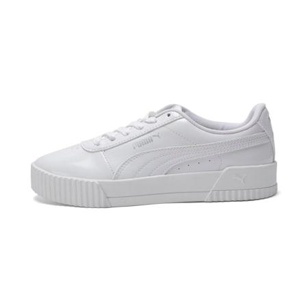 Carina P Women's Sneakers, Puma White-Puma White, small-IND