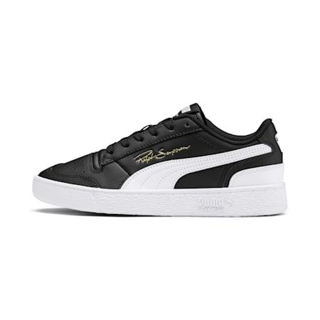Ralph Sampson Lo Youth Sneaker, Black-White-White, small