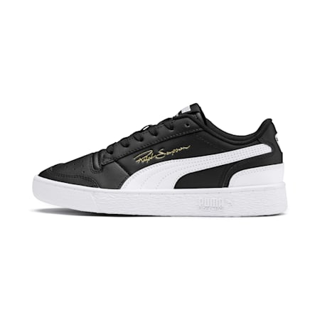 Ralph Sampson Lo Youth Trainers, Black-White-White, small-GBR