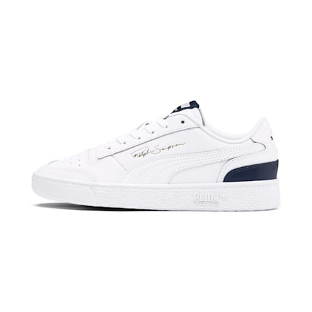 Ralph Sampson Lo Sneakers JR, White-Peacoat-White, small