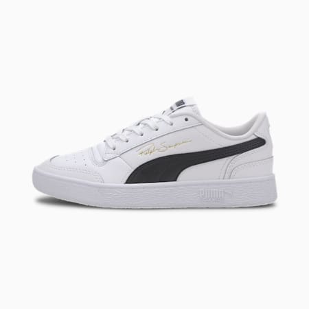 Ralph Sampson Lo Youth Trainers, PumaWhite-PumaBlack-Puma W, small