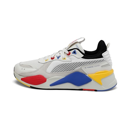 RS-X Colour Theory Shoes, Whisper White-Puma Black, small-IND