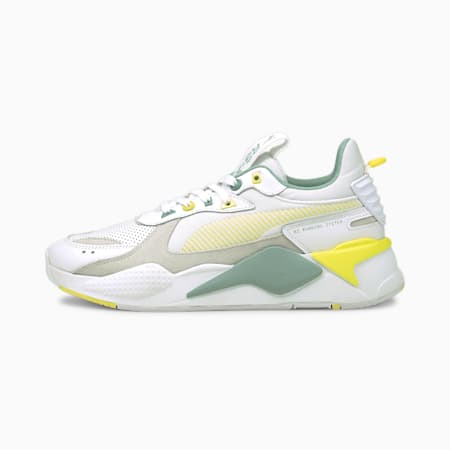 RS-X Colour Theory Trainers, Puma White-Celandine, small