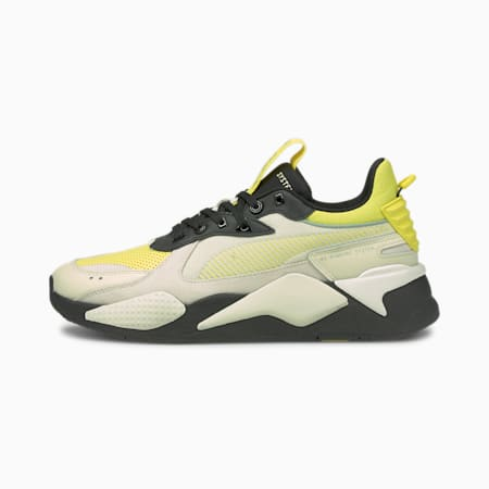 RS-X Colour Theory sneakers, Light Gray-Celandine, small