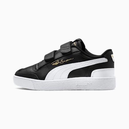 Ralph Sampson Lo V kindersneakers, Black-White-White, small