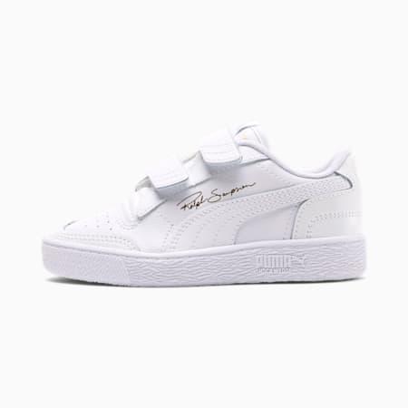 Ralph Sampson Lo V Kids Sneaker, Puma White-Puma W-Puma White, small