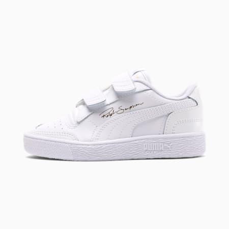 Ralph Sampson Lo Little Kids' Shoes, Puma White-Puma W-Puma White, small