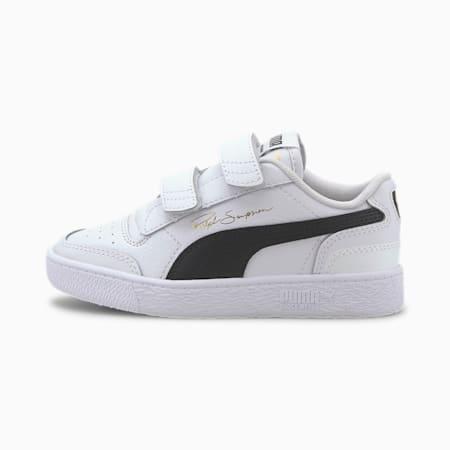 Ralph Sampson Lo V Kids Sneaker, Puma White-Puma Black-Puma W, small