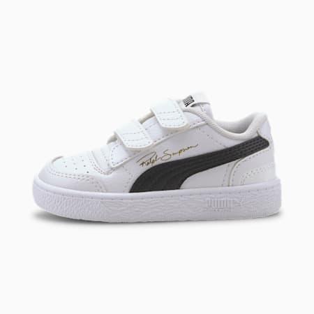Ralph Sampson Lo V Babies' Trainers, Puma White-Puma Black-Puma W, small