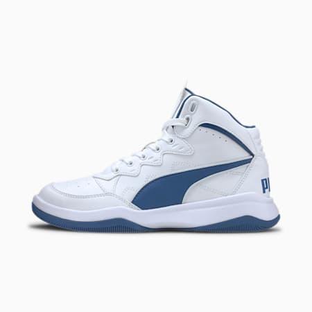 PUMA Rebound Playoff SL Sneakers JR, Puma White-Bright Cobalt, small
