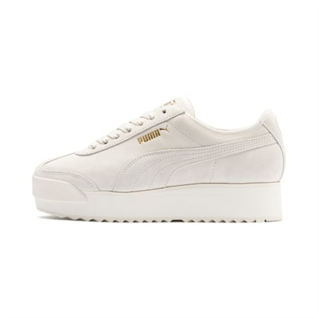 Roma Amor Suede Women's Sneakers, Pastel Parchment, small