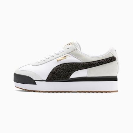 Roma Amor Heritage Women's Sneakers, Puma White-Puma Black, small