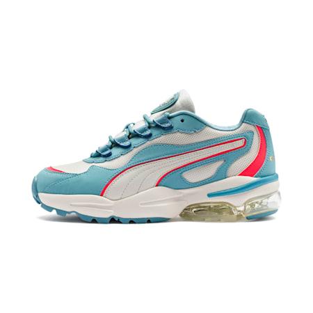 Zapatos deportivos CELL Stellar para mujer, Milky Blue-Puma Team Gold, pequeño