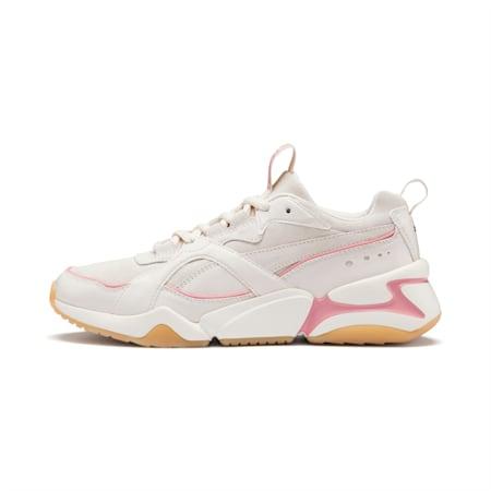 Nova 2 Suede Damen Sneaker, Pastel Parchment-Whisp White, small
